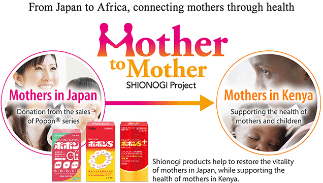 From Japan to Africa, connectiong mothers through health [Mother to Mother SHIONOGI Project]